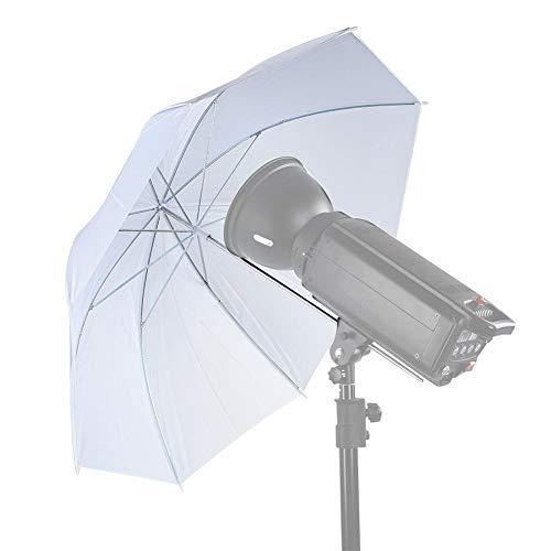 Zachte paraplu voor fotografie, 33 inch doorschijnende witte paraplu flitslichtverspreider Softlight voor foto- en videostudio-opnames