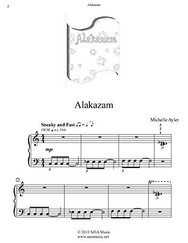 Alakazam: Easy Piano Solo (English Edition)