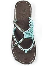 Plaka Flip Flops Sandals for Women Oceanside