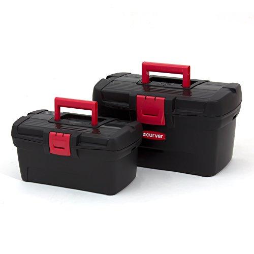 Set zwei Werkzeugkästen 13'' + 16'' Werkzeugkoffer Profi Herobox Werkstatt Organizer