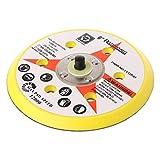 Ontracker Disco abrasivo de 6 pulgadas, 6 agujeros, disco de apoyo, disco de apoyo de 5/16'-24 rosca, herramienta de lijado y gancho