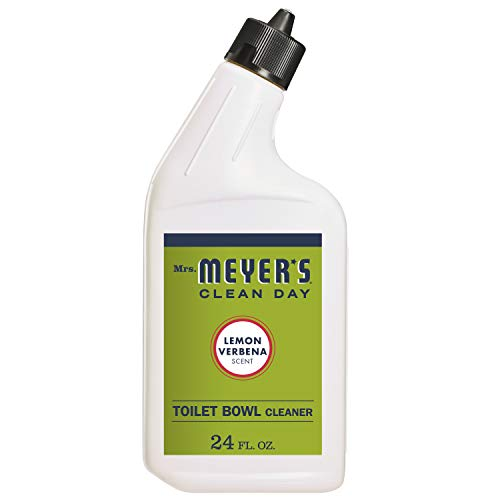 Mrs. Meyer's Clean Day Liquid Toilet Bowl Cleaner, Stain Removing, Lemon Verbena Scent, 24 oz
