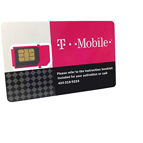 T-Mobile Prepaid SIM Card Unlimited Talk, Text, and Data in USA for 30 Days