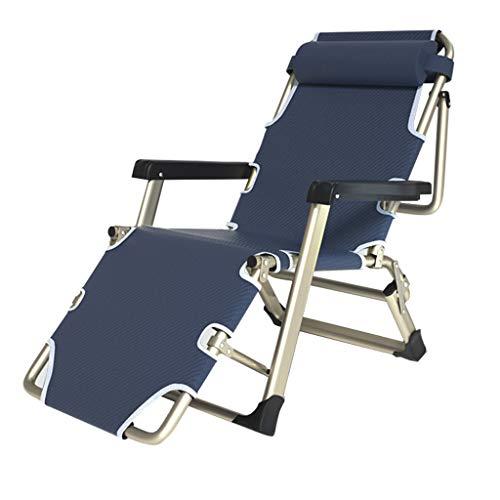 Tumbonas y sillas reclinables de jardín de Metal Plegable para Espacios pequeños...