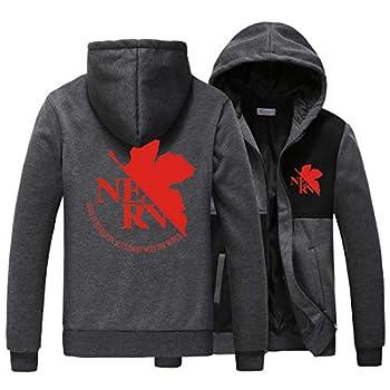 HOLRAN Cosplay Costume Neon Genesis Evangelion EVA Cosplay Hoodie Coat Jacket  XXX-Large