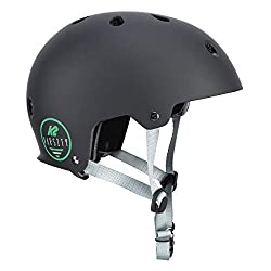 K2 Damen Herren Inline Skates Helm VARSITY - Schwarz - L (59-61cm) - 30D4105.1.1.L