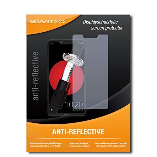 SWIDO Bildschirmschutz für Sharp Aquos D10 [4 Stück] Anti-Reflex MATT Entspiegelnd, Hoher Festigkeitgrad, Schutz vor Kratzer/Glasfolie, Schutzfolie, Bildschirmschutzfolie, Panzerglas Folie