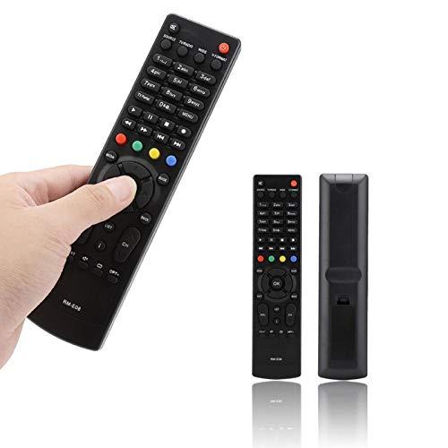 BOLORAMO Mando a Distancia Caja de TV Resistente al Desgaste Mando a Distancia Multifuncional Compatible con RM-E08 VAHD-3100S