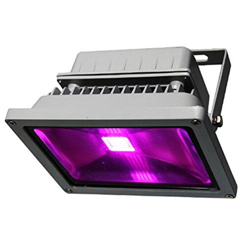 Viktion wasserdichte LED Pflanzenlampe LED Pflanzenlicht Growlicht LED-Pflanzen-Wachstumslampe 10W 20W 30W 50W 70W für Obst Gemüse Pflanzen Innen-Gewächshaus Glashaus (50 Watt)