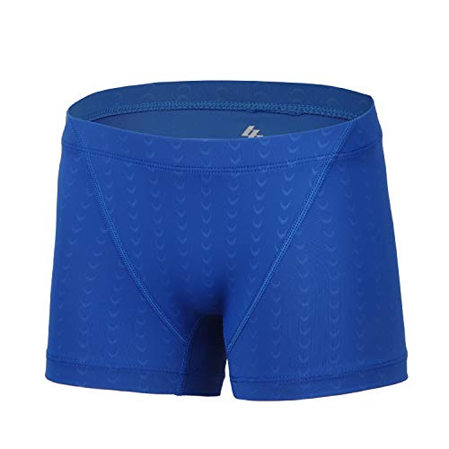 BELE ROY Youth Boys Swim Brief Kids Square Leg Swimsuit Athletic Swimming Jammers Boxer Quick Dry Navy S