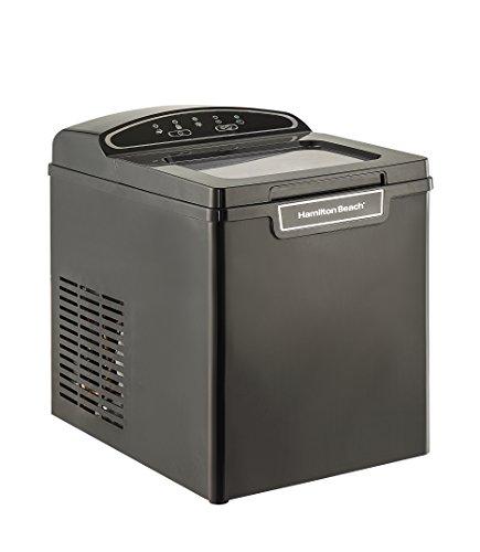 Hamilton Beach PIM-1-3A Portable Ice Maker, 26 lb. Capacity, Black
