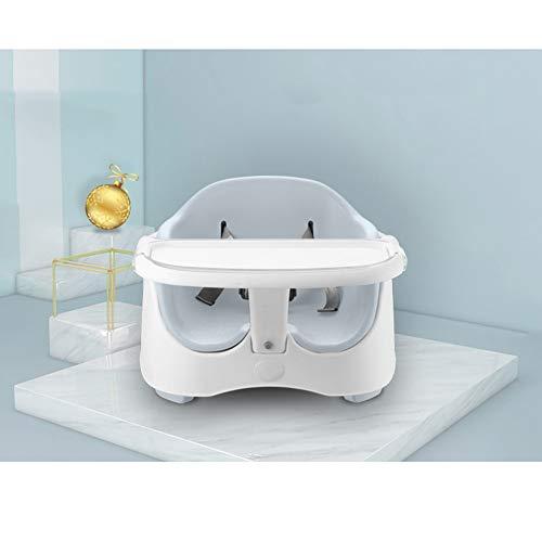 HLSUSAN Kompakter Hochstuhl für Babys, Verstellbar und Klappbar, Abnehmbares BPA-freies Tablett, Schicker Hochsitz mit...