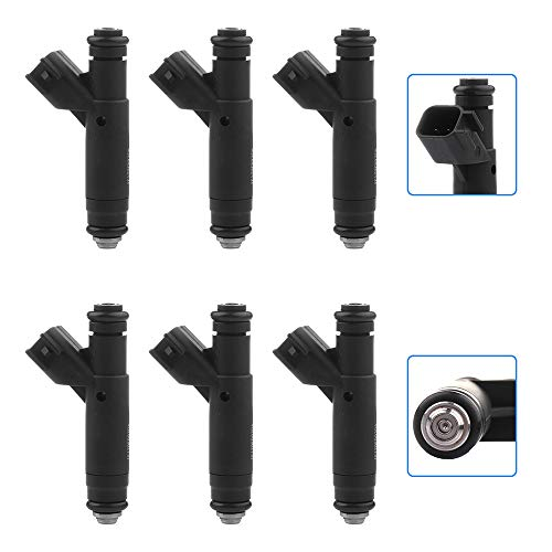 Injectors,cciyu 4 hole Fuel Injectors Set fit for 01 02 03 04 05 for Ford for...