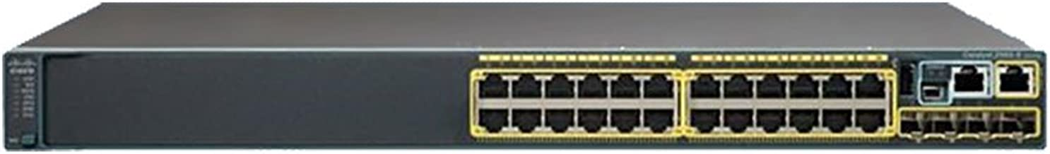 Cisco Catalyst WS-C2960X-24PS-L Ethernet Switch 24 Ports