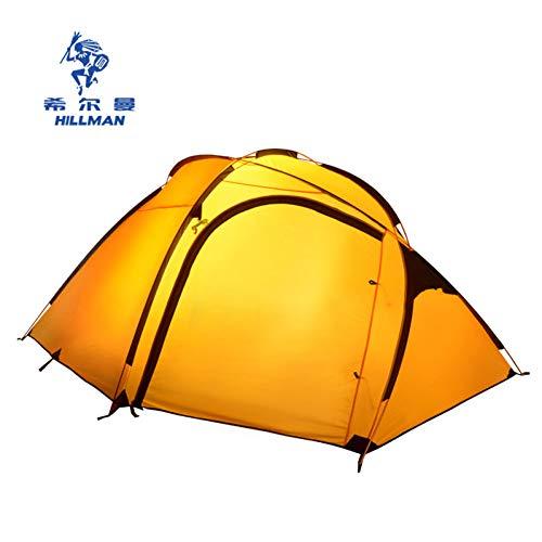 ZHJLOP Carpa Hillman Qingyun 3-4 Personas una Gran Carpa de