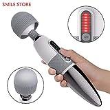Elektrische Handheld Massager Hammer Vibrierende Kopf Hals Zurück Körper Halswirbel Entspannen...