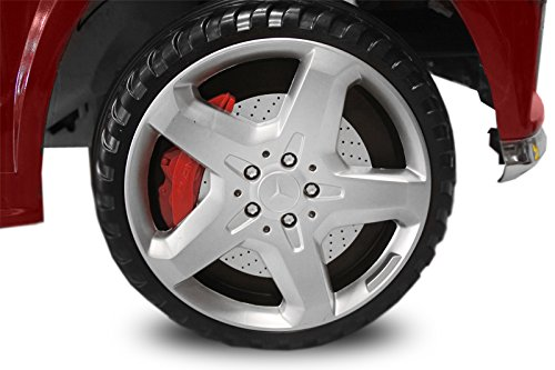 RC Auto kaufen Kinderauto Bild 6: Kaufexpress Mercedes Benz GL63 AMG Jeep SUV Lizenz Kinderfahrzeug mit 2X 35W Motor Kinderauto Elektroauto Fernbedienung MP3 Anschluss in Weiß*