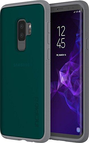 Incipio Octane Case für Samsung Galaxy S9+ (grün/grau) von Samsung zertifizierte Schutzhülle [Extrem robust I Strukturierter Bumper I Transparent I Hybrid] - SA-936-GGY