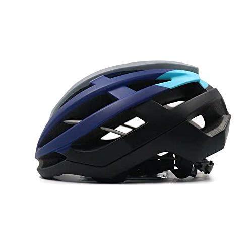 SMQIONG Casques à vélo Allround Casque de vélo Homme Route pneumatique de sécurité monopièce Hat Femme Mountain Equipment Vélo, Violet, M