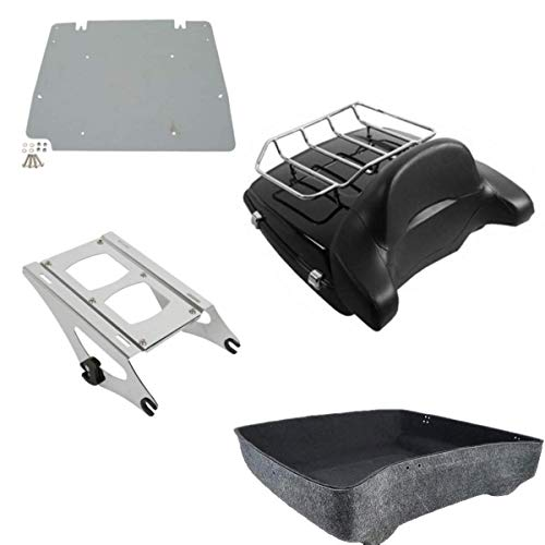 TCMT Chopped Tour Pack Trunk Fits For Harley Davidson Touring Street Road Glide 2014 2015 2016 2017 2018 2019 2020