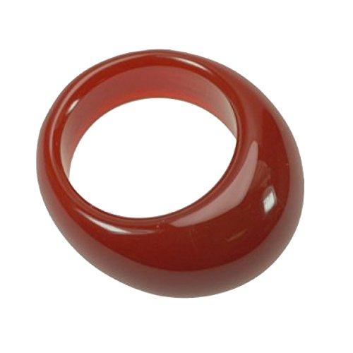 Edelstein Ring Karneol –schöne orange-braune Farbe – Ring-Größe:Ø 20 / Umfang 63 mm