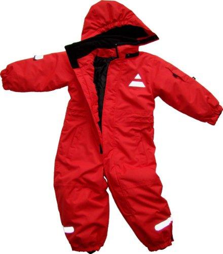 Maylynn Mini Softshell Schneeanzug Schneeoverall rot, Größe:98