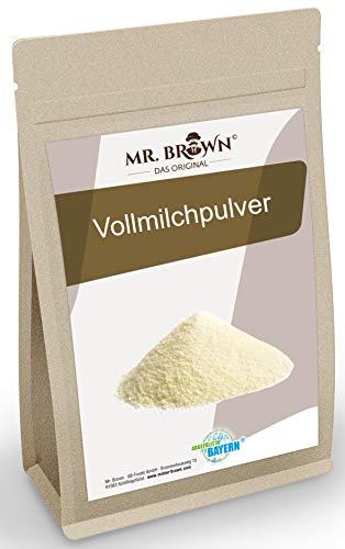 Mr.Brown Vollmilchpulver 1 kg | zum Backen | sprühgetrocknet | Milchpulver als Alternative zur frischen Milch