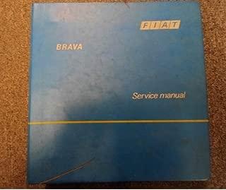 1979 1980 1982 1984 1985 Fiat Brava Service Repair Shop Manual FACTORY OEM RARE