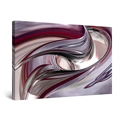 Startonight Cuadro Moderno en Lienzo Destino - Feng Shui, Pintura Abstracta para Salon Decoración Grande 80 x 120 cm