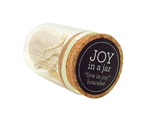 『Joy in a Jar Kingdom インスピレーションジュエリー スレッドブレスレット 真鍮プレート付き 6インチ』の4枚目の画像