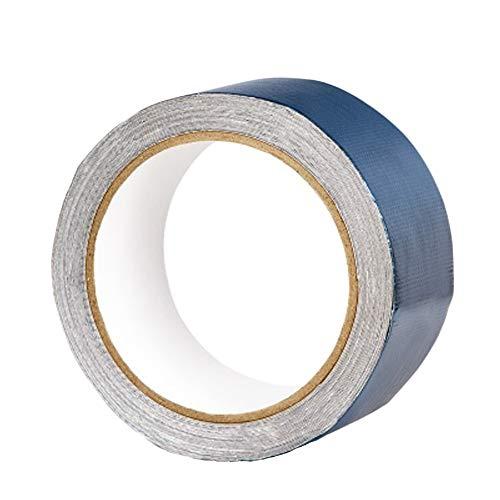 Zhihui Zeltplanen ZZHF Wasserdichtes Klebeband Reparieren Sie Dichtungs-Isolierband, Silikon-wasserdichte Selbstklebende Bänder Verschmelzungsgummibänder, Blau/Grün (Farbe : Blau, größe : 8cm*8m)
