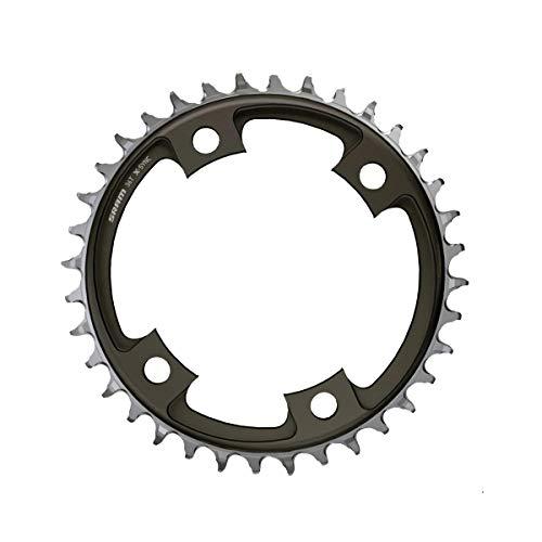 SRAM 107Bcd X-Sync - Plato para Bicicleta (Unisex, 38 Dientes), Color Negro