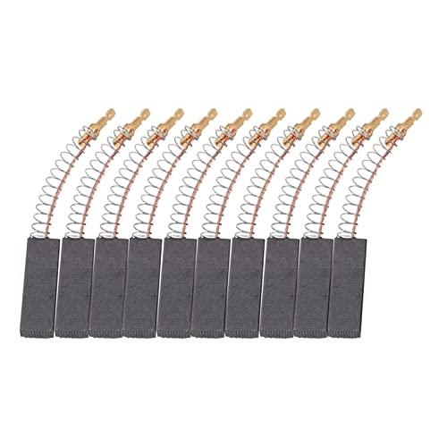 SHENG shengyuan 10 cepillos de carbón de Motor de Repuesto compatibles con/Neff/Máquinas lavadoras de Siemens, Accesorios de Piezas de la Herramienta de Potencia del Motor