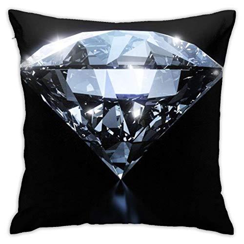 Federa per Cuscino, Fodera per Cuscino diamantata, Federa Decorativa per Cuscino Quadrato per Divano Auto 18x18