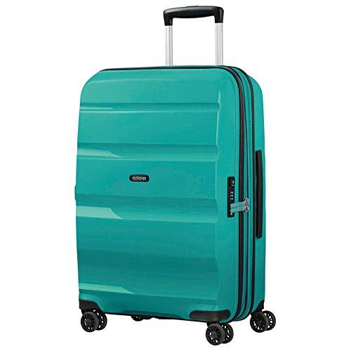 American Tourister Bon Air DLX Maleta con 4 ruedas turquesa 66 cm