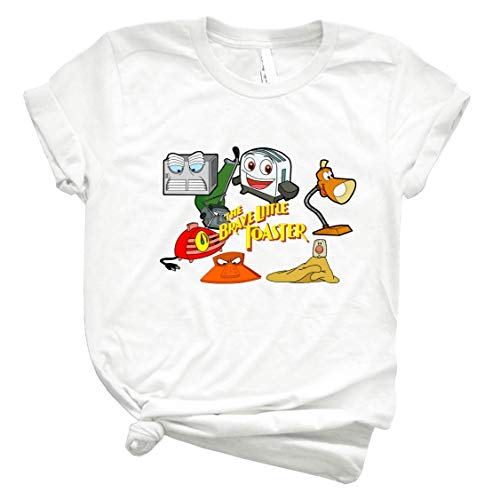 Brave Little Toaster Crew Men Graphic Tee Vintage Retro Style Shirt for Women – Customize Women Best T