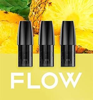 Flow compatible cartridges 3pcs a pack no nicotine for flow S device multi flavors 福禄S 替换烟弹3颗装 (冰果派对フルーツパーティー)