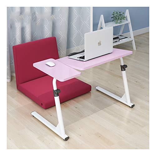 Mesa de camping plegable Mesa plegable con bandeja para portátil - Escritorio para portátil de altura ajustable con tablero de ratón 50~70cm de elevación Mesa de bandeja de TV Escritorio de la bandeja