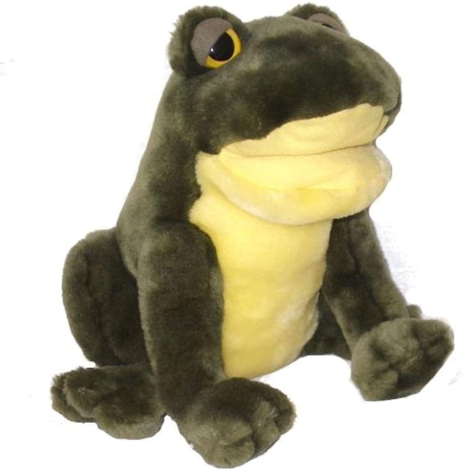 Rudy the Ribbitting Frog Puppet with Sound