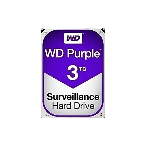 'wd30purz Western Digital, Disco Duro, 3,5, SATA 6GB/s, 3TB, 64MB de caché, 24x 7, optimizado para videovigilancia