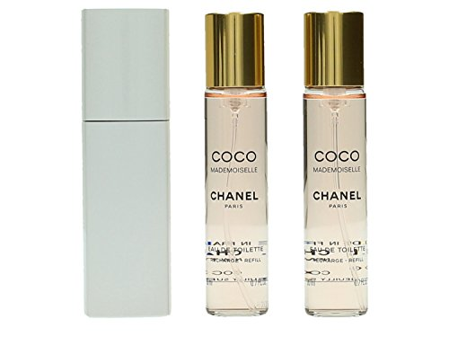 Chanel Coco Mademoiselle Eau de Toilette Set Vaporisateur/Spray 20 ml/Refill 20 ml for Women