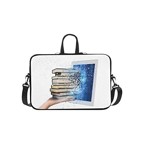 15.6″Kratzfeste Business-Aktentasche Notebook Bücher lesen Ebook Tragbares PC...