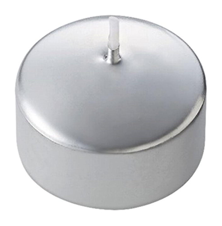 咳反動タンクキャンドル ハッピープール(カラーアトリエ) 「 シルバー 」 24個入り 72800100SI