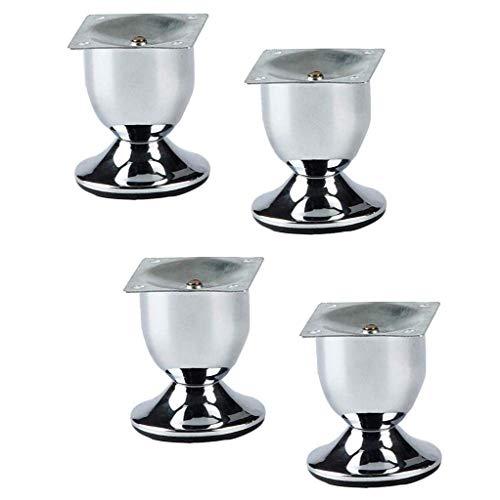 YXB Cabinet voeten X4, metalen bank voet hardware, Europese meubels voeten, DIY accessoires meubels voetsteun/wijn glas voeten (vier sets) voor kasten, tafels en andere meubels voeten.