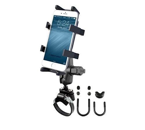 RAM MOUNTS ATV UTV Correa de Brazo Corto El Soporte para Manillar se Adapta a teléfonos celulares Smartphones