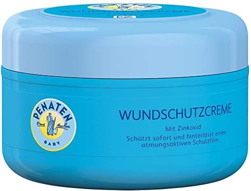 Penaten 3 x Crema de protección de heridas con óxido de Zinc 200ml Cada una Crema calmante para bebés