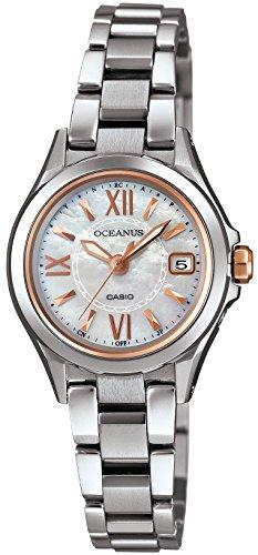 [カシオ] 腕時計 オシアナス 電波ソーラー OCW-70PJ-7A2JF シルバー