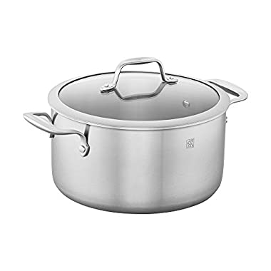 ZWILLING Spirit 3-ply 6-qt Stainless Steel Dutch Oven