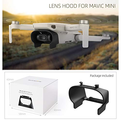 RONSHIN Popular Sell for RC Drone Zonnekap voor DJI Mavic Mini Anti-glare Gimbal Lens Cover Zonnescherm Beschermhoes Afstandsbediening Vliegtuigaccessoires