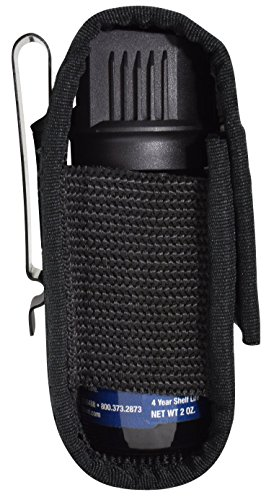 Holster, nylon - (fits 1.5 oz pepper spray, Fox Labs, Sabre, Freeze +P, Wildfire) -Holster only, pepper spray not included.